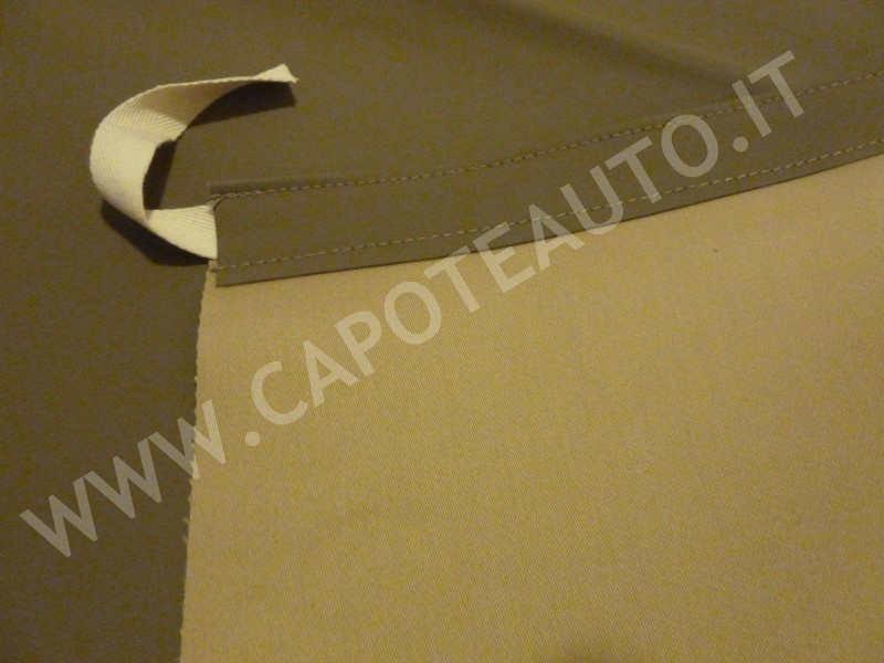 Capote 2cv Rosso Vallelunga