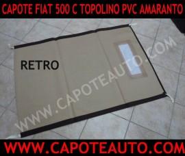 Capote 2cv Marrone