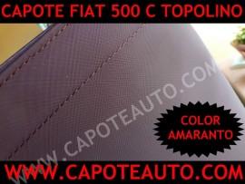 Capote 2cv Rosso