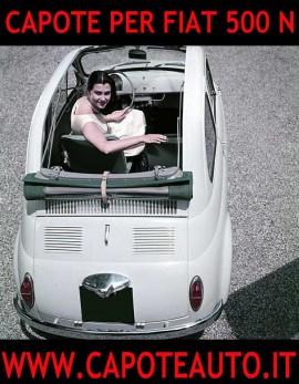 Capote Fiat 500 N