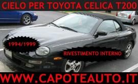 Capote Mercedes CLK (A209) cabrio, tessuto originale