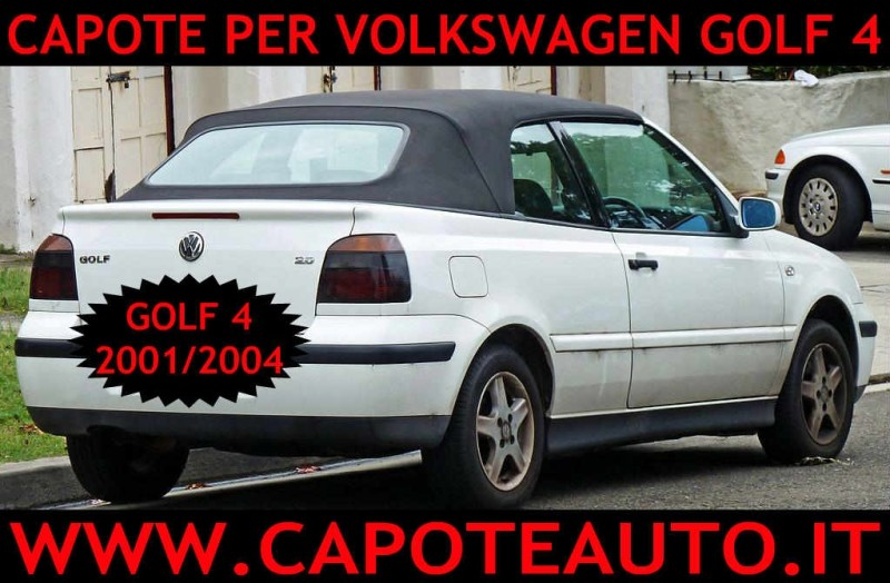 Capote Opel Astra G in tessuto