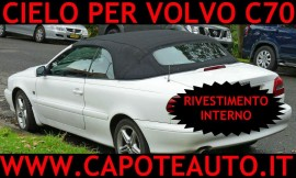 Capote 204/304 tessuto Pininfarina