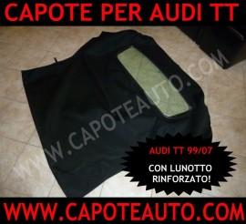 Audi TT lunotto rinforzato