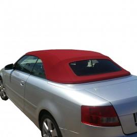 Capote bordeaux per Audi A4 cabrio