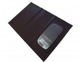 Capote Saab 9.3 in tessuto originale nero