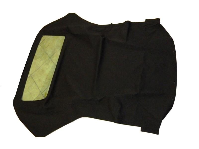Capote Fiat Punto in tela Pvc nero