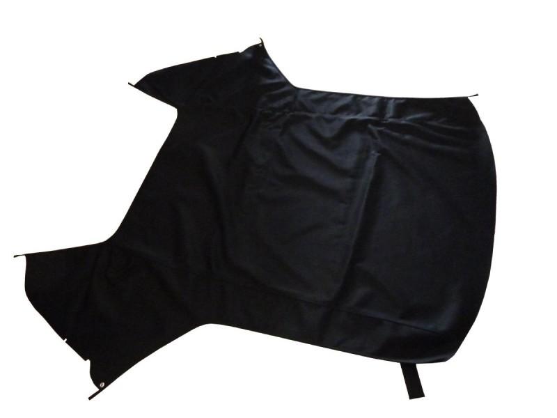 Capote Saab 900 in tessuto originale nero