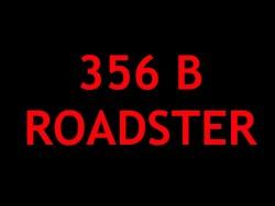 Porsche 356 B Roadster